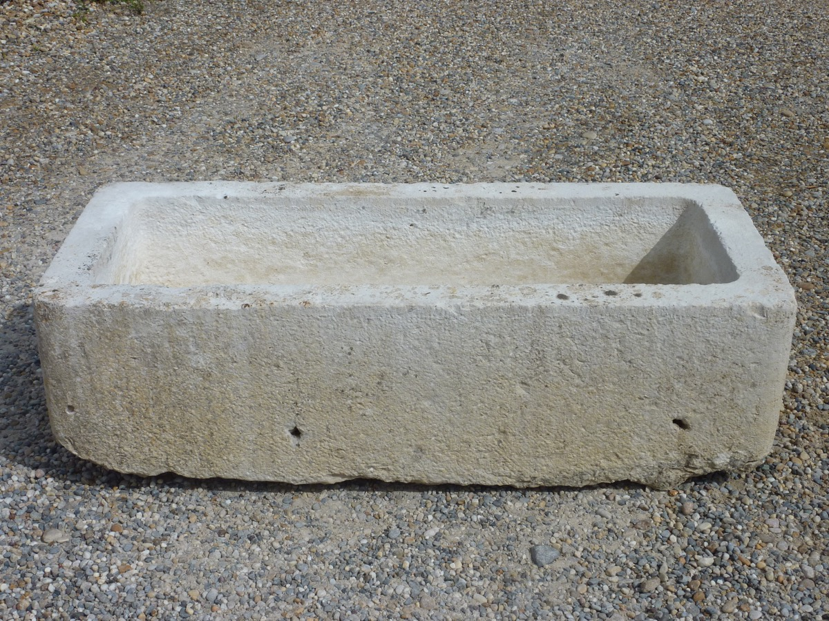 Antique Stone Trough   Stone   Rustic Country ...