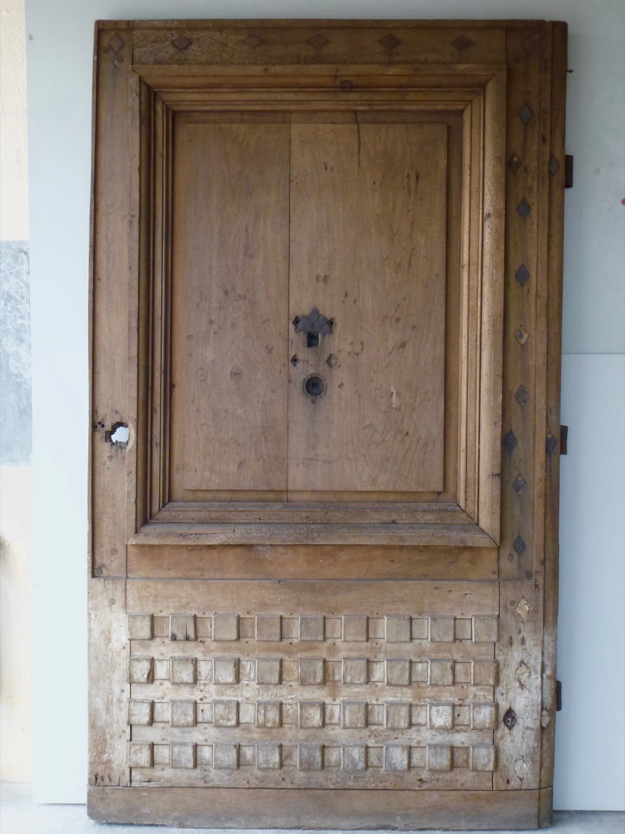 Antique woodwork, Door, Parquet  - Wood - Louis XIV - XVIIth C.