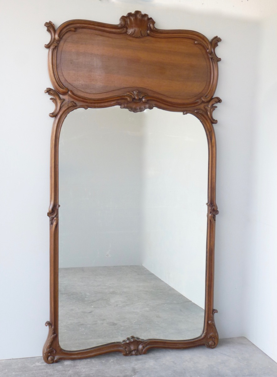 Mirror  - Wood - Art nouveau - XXth C.