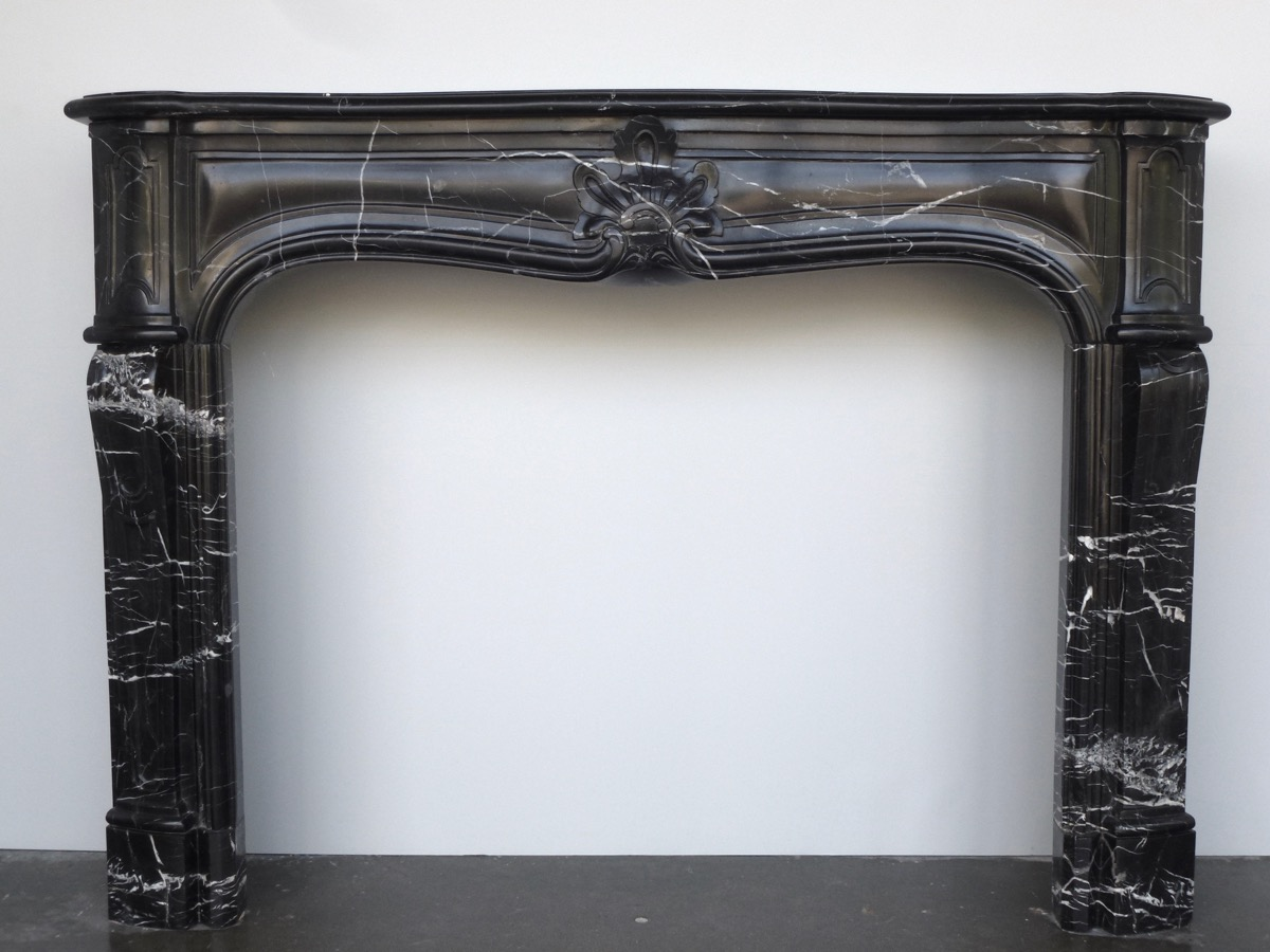 Antique fireplace  - Marble - Louis XV - XVIIIthC.