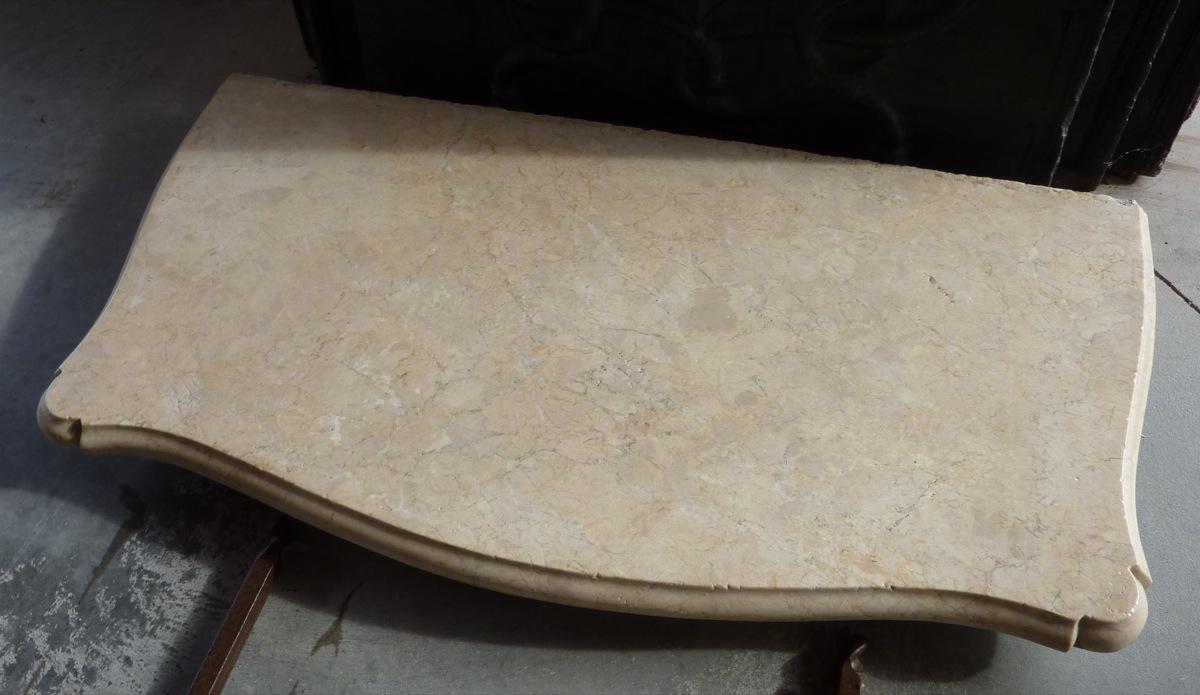 console ancienne pierre et fer forg louis xv xixe s dj 422. Black Bedroom Furniture Sets. Home Design Ideas