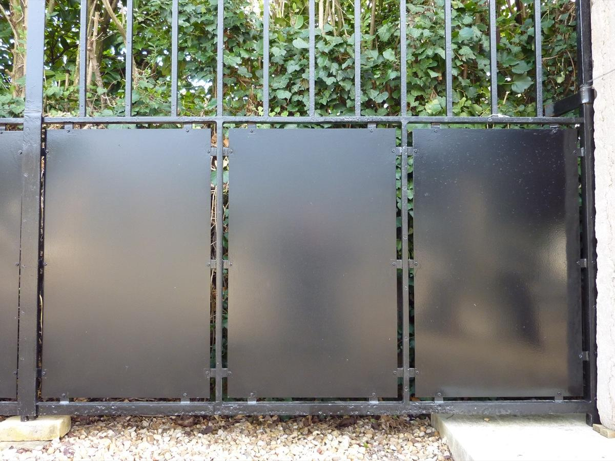 portail ancien piliers en pierre fer forg art d co xxe s pf 427. Black Bedroom Furniture Sets. Home Design Ideas