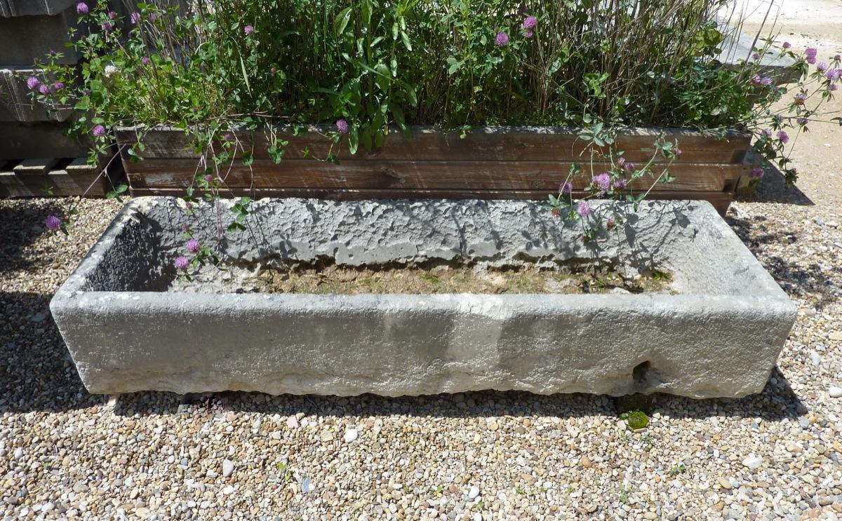 bac en pierre pierre art populaire xixe s dj 780