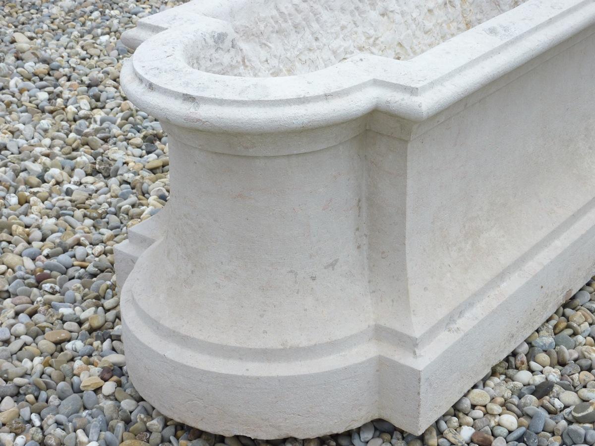 jardini re en pierre mortier ancien pierre louis xiv. Black Bedroom Furniture Sets. Home Design Ideas