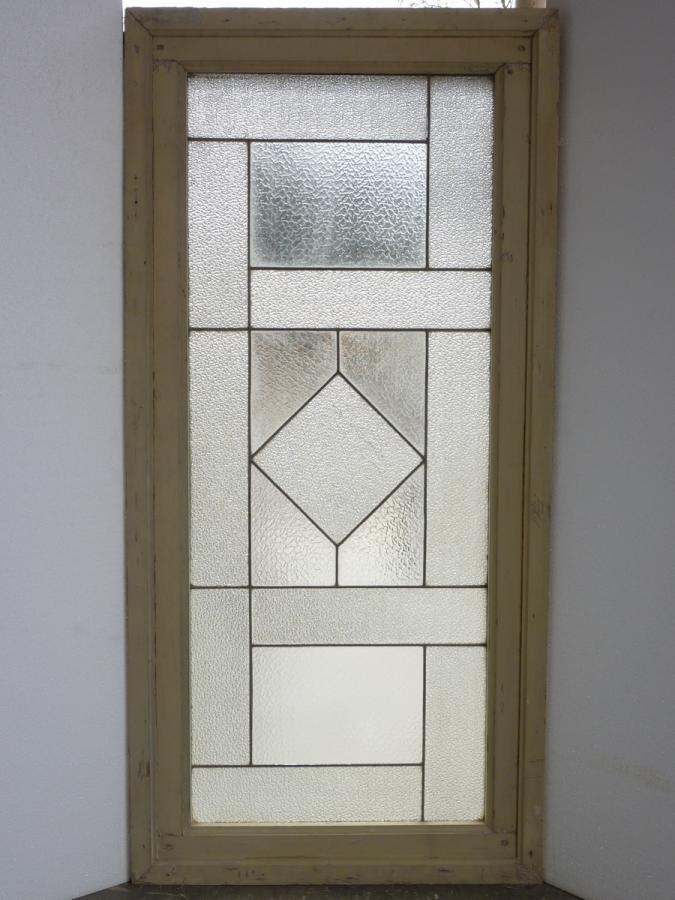 vitrail ancien verre art d co xxe s dj 693. Black Bedroom Furniture Sets. Home Design Ideas