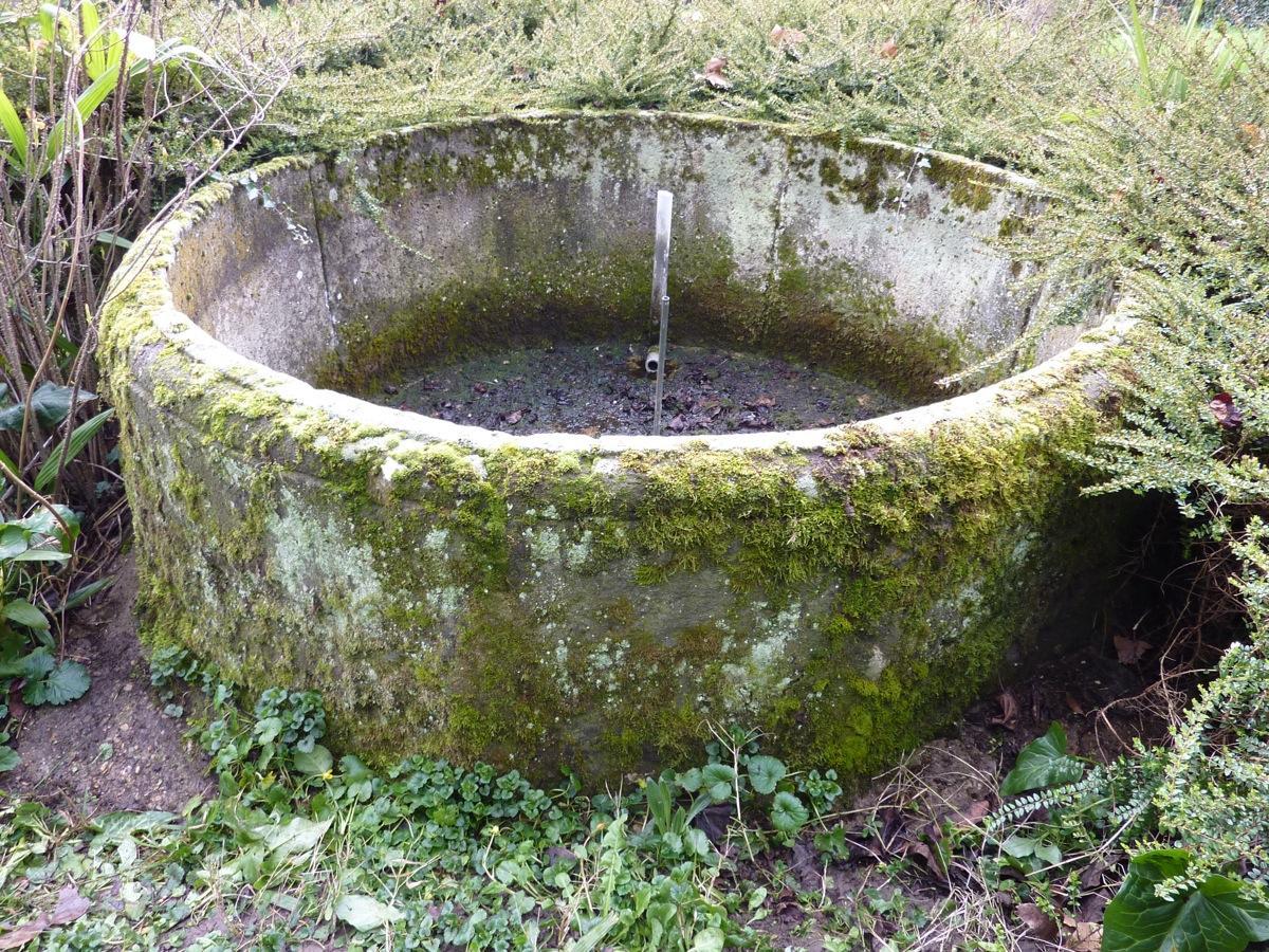 Bassin en pierre ancien pierre louis xvi xviiie s dj 739 - Bassin de jardin en pierre ...