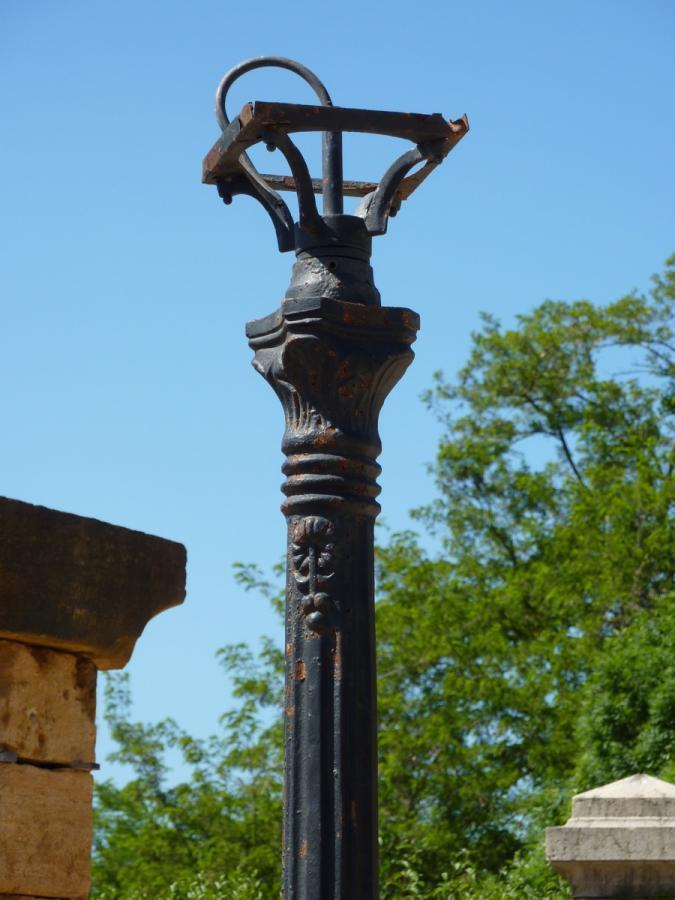 Antique Street Lamp   Cast Iron   Napoléon III ...