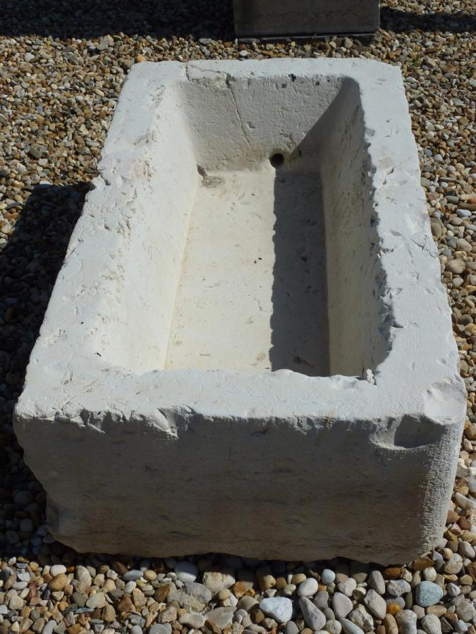 bac en pierre pierre art populaire xixe s dj 866. Black Bedroom Furniture Sets. Home Design Ideas