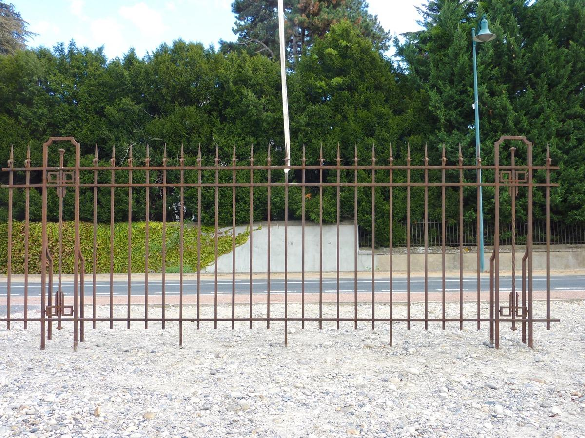 Antique iron gate and wrought iron  - Wrought iron - Napoléon III - XIXth C.