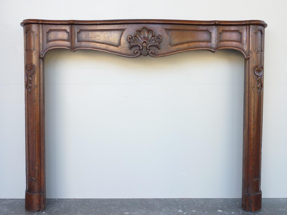 Antique fireplace  - Wood - Louis XV - XVIIIthC.