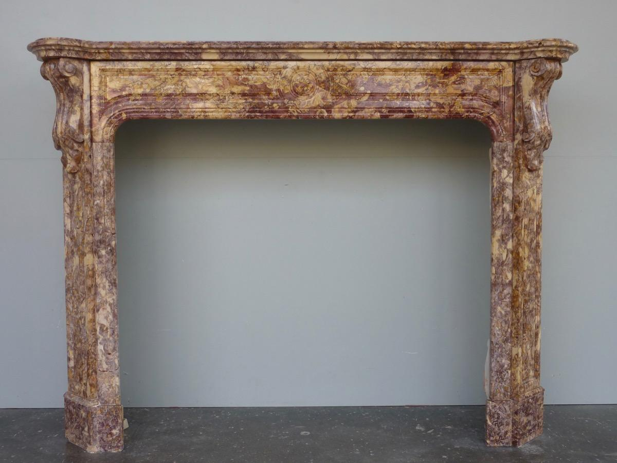 Antique fireplace  - Marble - Napoléon III - XIXthC.
